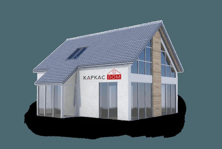 Достоинства одноэтажных и двухэтажных каркасных домов 8 на 8